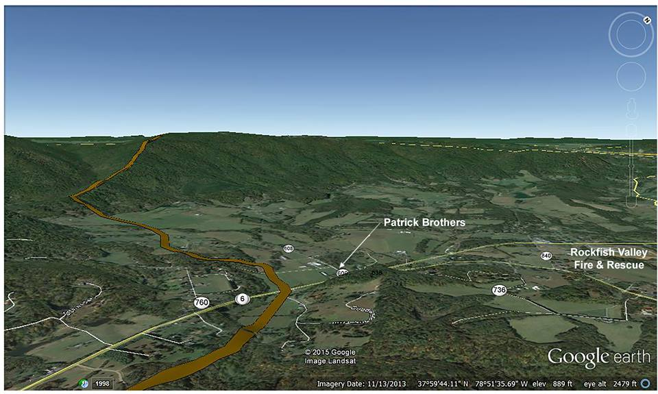 Maps | Friends of Nelson County Atlantic Coast Pipeline Route Maps Nelson Co Va on